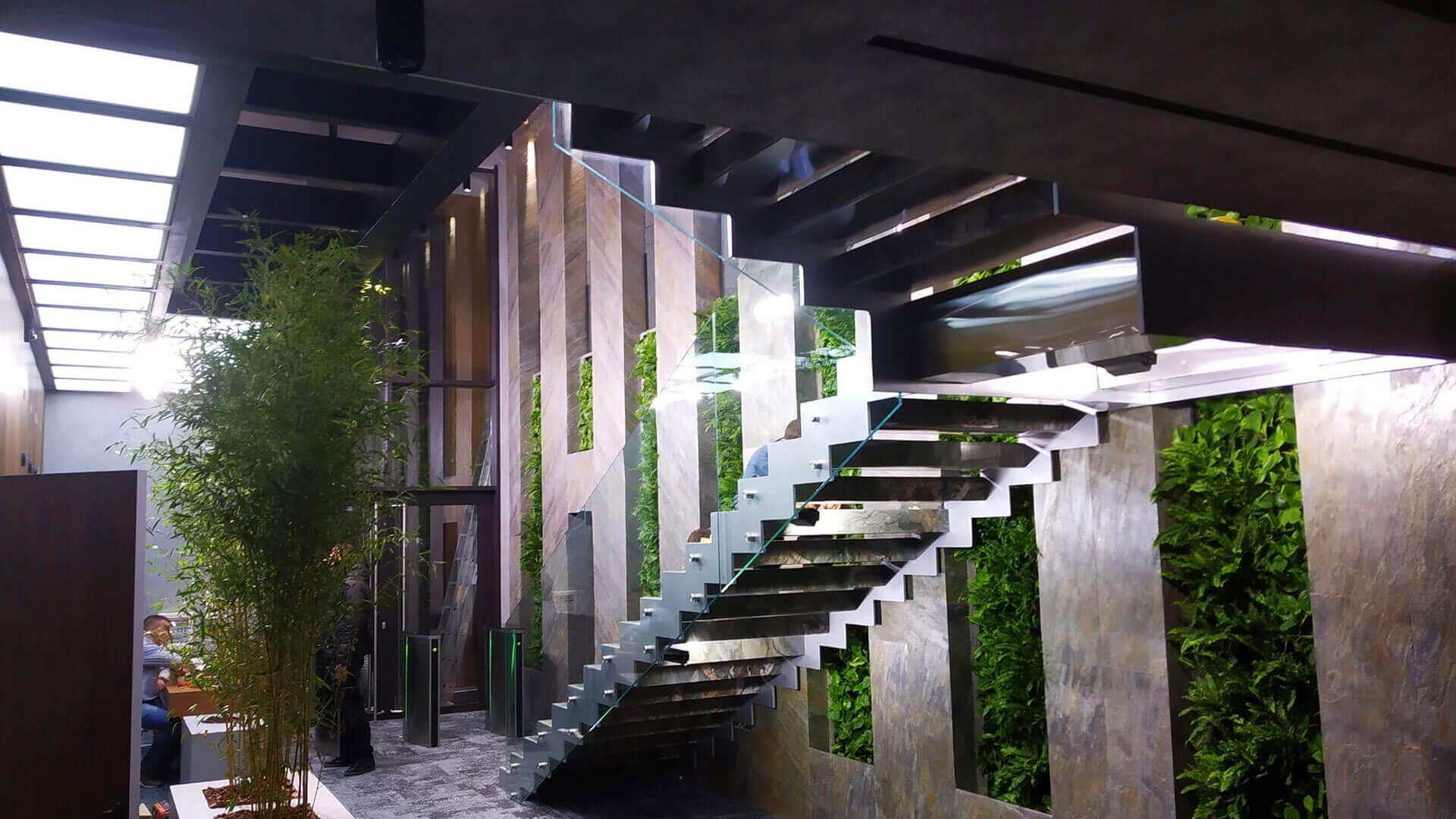 Система вертикального озеленения, г. Киев